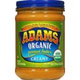 Adams, Organic Peanut Butter image