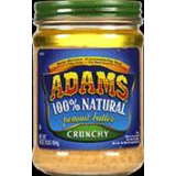 Adams, 100% Natural Crunchy Peanut Butter image